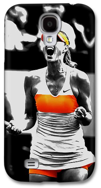 Maria Sharapova 031 Galaxy S4 Case by Brian Reaves