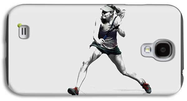 Maria Sharapova 3y Galaxy S4 Case by Brian Reaves