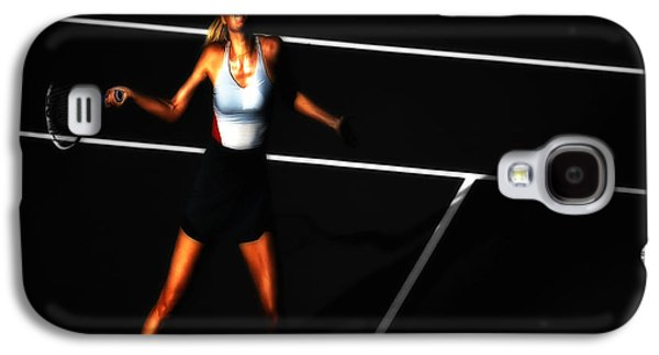 Maria Sharapova Focus Galaxy S4 Case by Brian Reaves