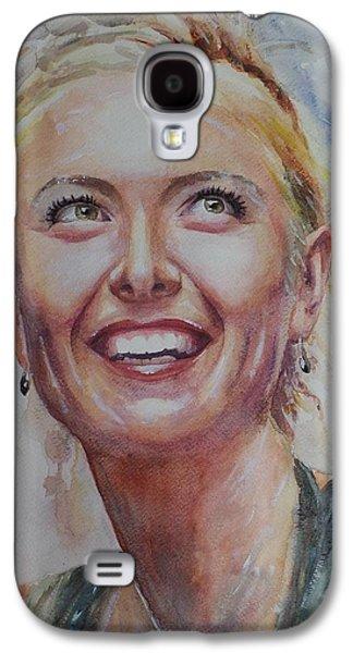 Maria Sharapova - Portrait 3 Galaxy S4 Case