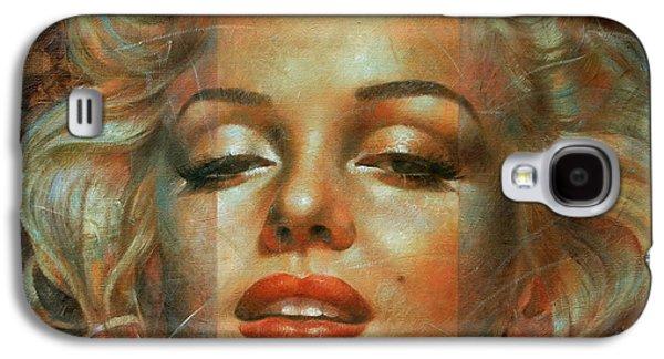 Marilyn Monroe Galaxy S4 Case by Arthur Braginsky