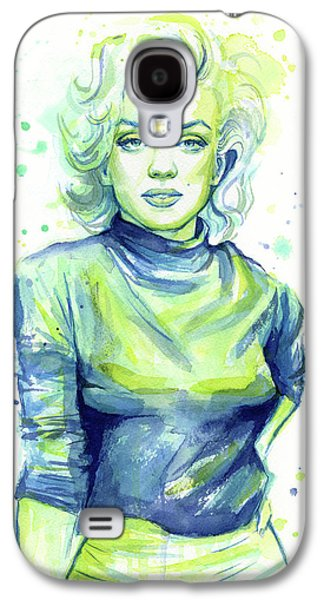 Marilyn Monroe Galaxy S4 Case by Olga Shvartsur