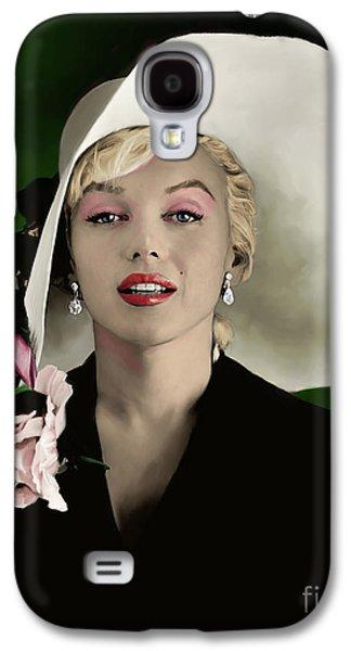 Marilyn Monroe Galaxy S4 Case by Paul Tagliamonte