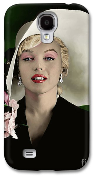 Marilyn Monroe Galaxy S4 Case - Marilyn Monroe by Paul Tagliamonte