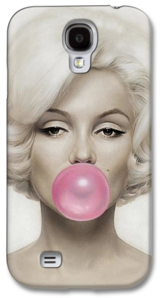 Marilyn Monroe Galaxy S4 Case by Vitor Costa
