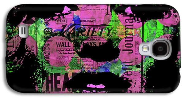 Marilyn Polk Dot Bubble Wrap Pop Art Painting Abstract Robert R Galaxy S4 Case
