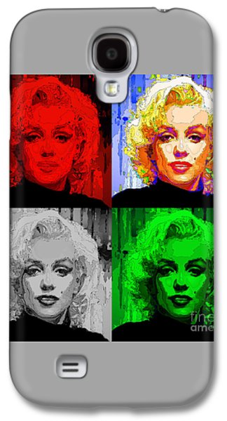 Marilyn Monroe - Quad. Pop Art Galaxy S4 Case