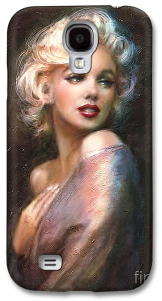 Marilyn Romantic Ww 1 Galaxy S4 Case by Theo Danella