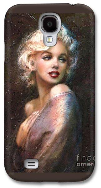 Pop Art Galaxy S4 Case - Marilyn Romantic Ww 1 by Theo Danella