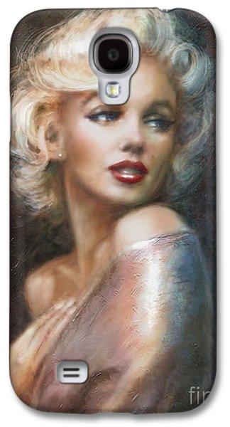 Marilyn Ww Soft Galaxy S4 Case