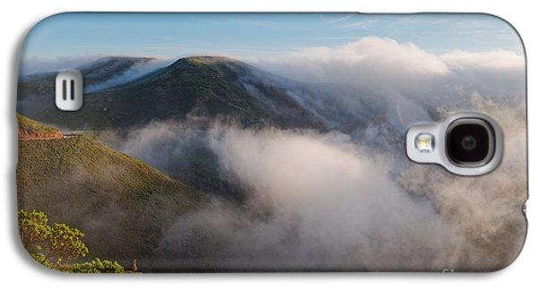 Marin Headlands Fog Rising - Sausalito Marin County California Galaxy S4 Case by Silvio Ligutti