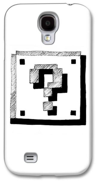 Mario Block Galaxy S4 Case by Kayleigh Semeniuk