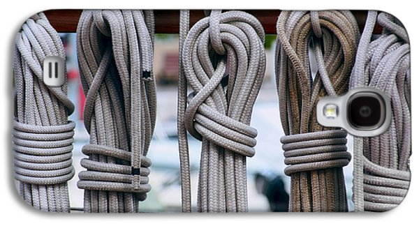 Maritime Rope And Knot Work Galaxy S4 Case by Daniel Hagerman