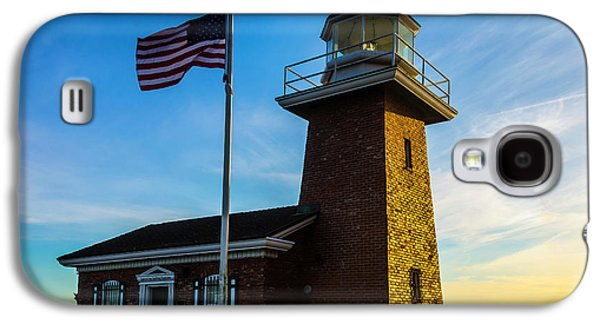 Mark Abbott Memorial Lighthouse Galaxy S4 Case by Garry Gay
