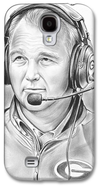 Sports Galaxy S4 Case - Mark Richt  by Greg Joens