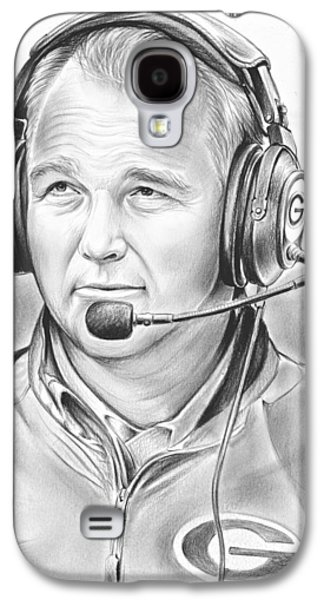 Mark Richt  Galaxy S4 Case by Greg Joens