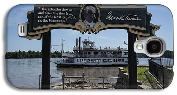 Mark Twain On The Big Muddy Galaxy S4 Case