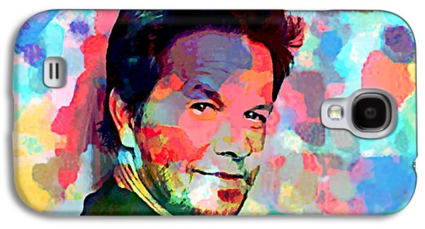 Mark Wahlberg  Galaxy S4 Case by Enki Art