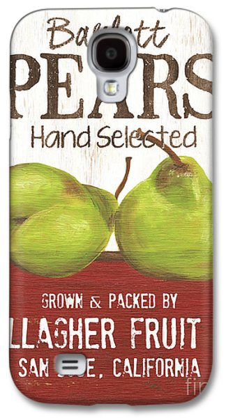Pear Galaxy S4 Case - Market Fruit 1 by Debbie DeWitt