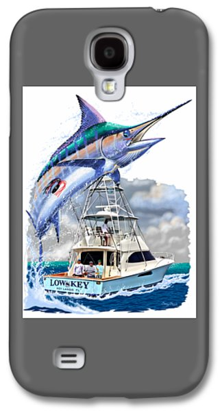 Marlin Commission  Galaxy S4 Case by Carey Chen