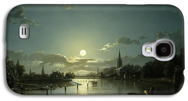 Marlow On Thames Galaxy S4 Case by Hnery Pether