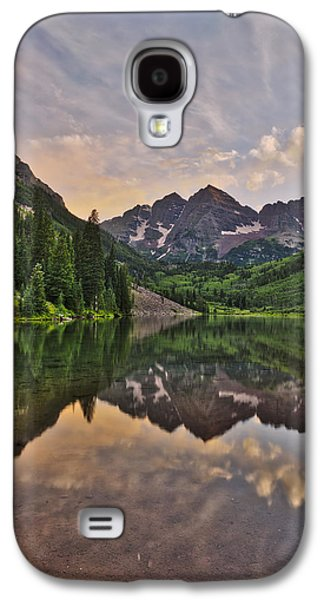 Maroon Bells Sunset - Aspen - Colorado Galaxy S4 Case