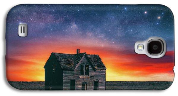 Marquette Galaxy S4 Case - Marquette Magic by Darren White