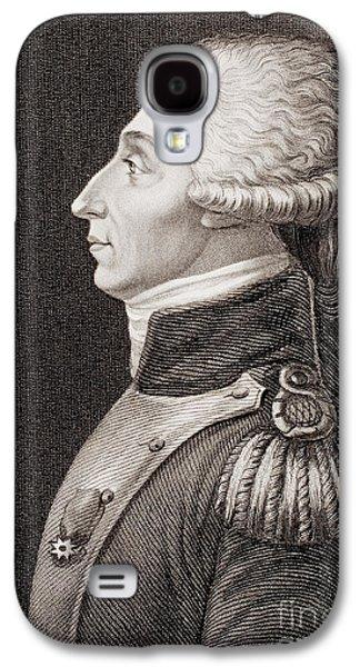 Marquis De Lafayette Galaxy S4 Case by American School