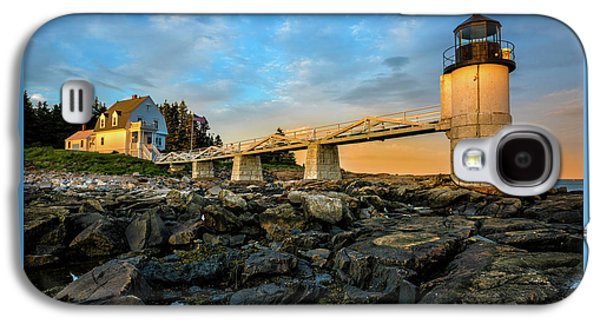 Marshall Point Light Aglow Galaxy S4 Case