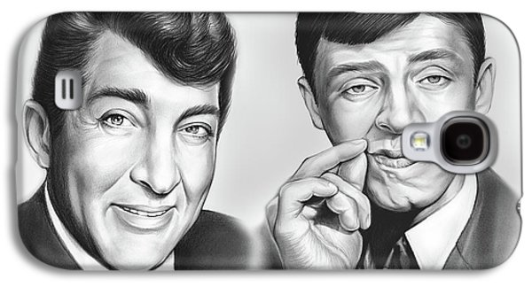 Martin And Lewis Galaxy S4 Case by Greg Joens