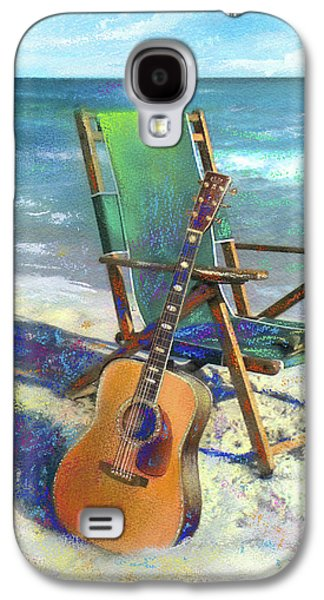 Martin Goes To The Beach Galaxy S4 Case by Andrew King