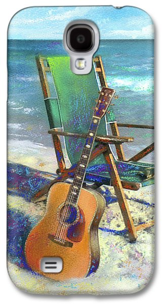 Martin Goes To The Beach Galaxy S4 Case