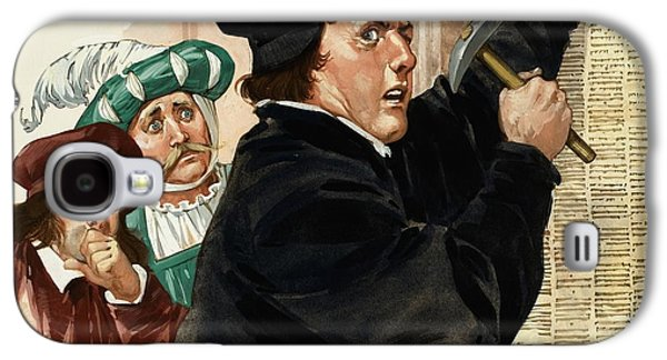 Martin Luther Galaxy S4 Case by Angus McBride