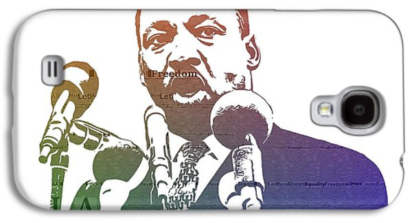 Martin Luther King Jr Galaxy S4 Case by Dan Sproul