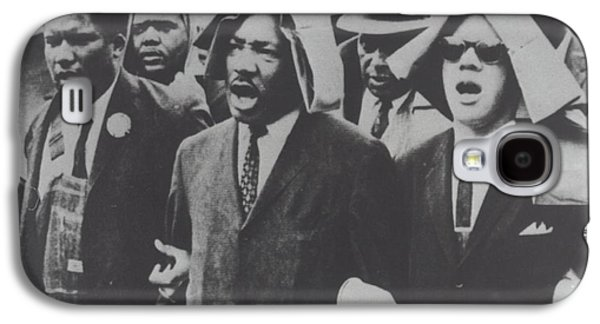 Martin Luther King Taking Part In A Civil Rights Protest March, Montgomery, Alabama Galaxy S4 Case by American School