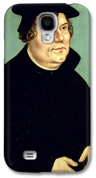 Martin Luther  Galaxy S4 Case by Lucas the elder Cranach