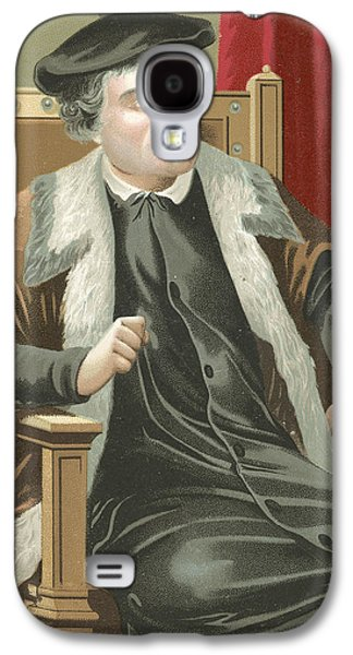 Martin Luther Galaxy S4 Case by Spanish School