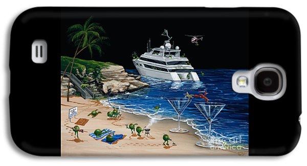 Helicopter Galaxy S4 Case - Martini Cove La Jolla by Michael Godard