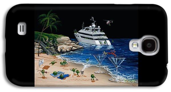 Martini Galaxy S4 Case - Martini Cove La Jolla by Michael Godard