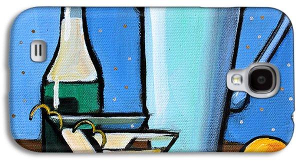 Martini Night Galaxy S4 Case by Toni Grote