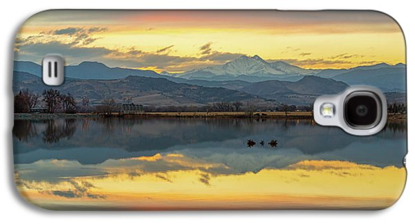 Galaxy S4 Case featuring the photograph Marvelous Mccall Lake Reflections by James BO Insogna