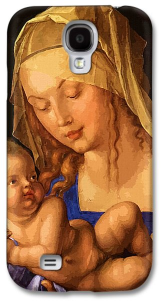 Mary Saint Galaxy S4 Case by Christian Art