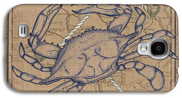 Maryland Blue Crab Galaxy S4 Case by Debbie DeWitt