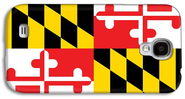 Maryland State Flag Galaxy S4 Case
