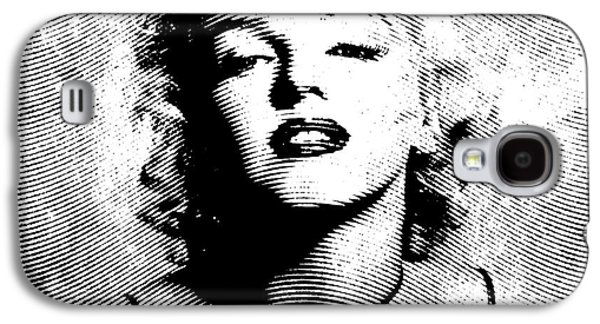 Marilyn Monroe - 04a Galaxy S4 Case by Variance Collections