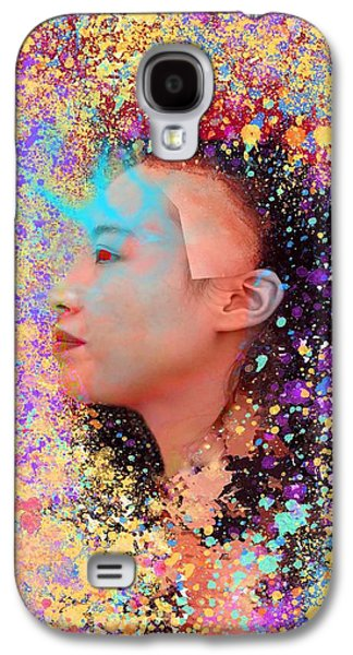 Mask Of Impressionism Galaxy S4 Case