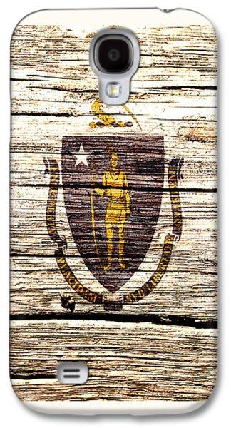 Massachusetts State Flag 1w Galaxy S4 Case