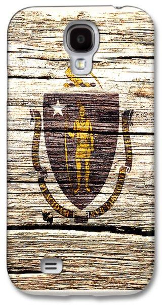Massachusetts State Flag 2w Galaxy S4 Case