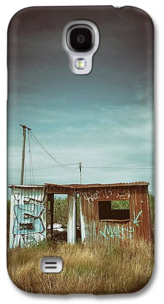 Metallic Container Shed  Galaxy S4 Case by Carlos Caetano