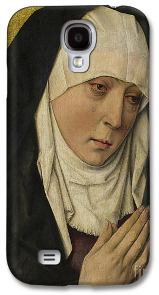 Mater Dolorosa  Sorrowing Virgin Galaxy S4 Case by Dieric the Elder Bouts